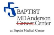 Baptist MD Anderson Cancer Center At Baptist Medical Center Jacksonville Florida