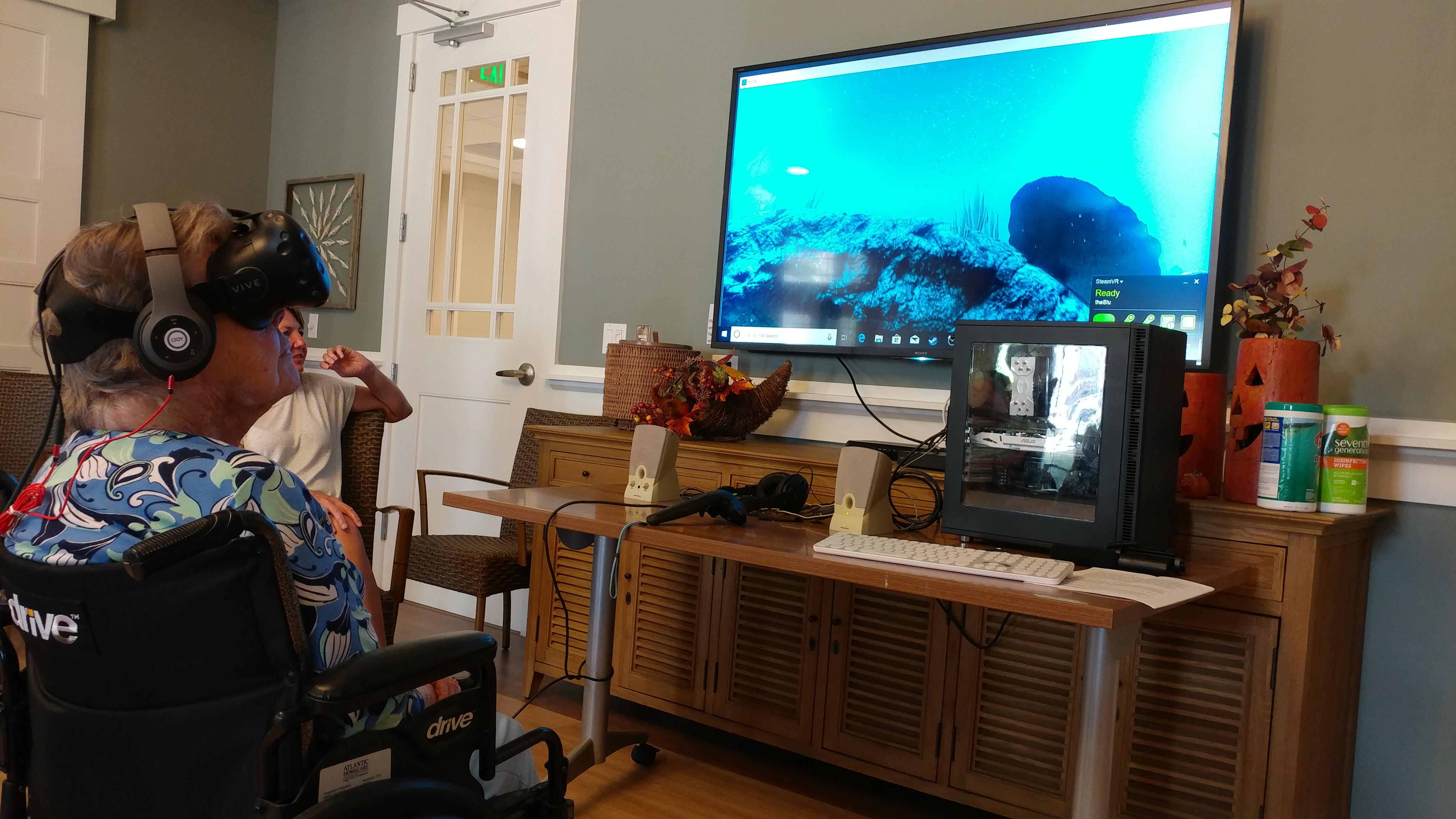 arbor terrace virtual reality vr virtual vitality