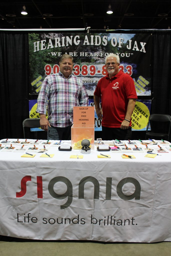Signia Senior expo hearing aids