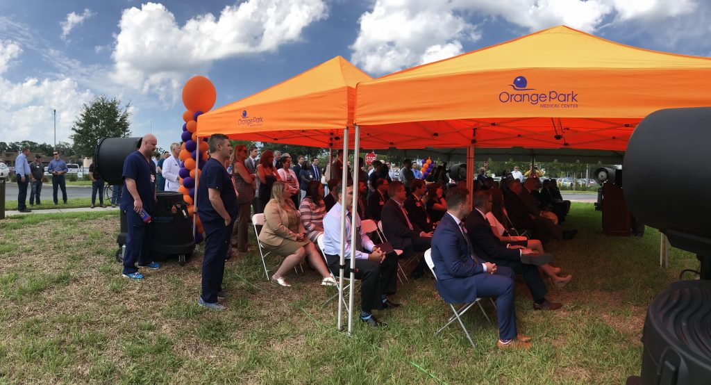 Orange Park Medical Center breaks ground for new facility