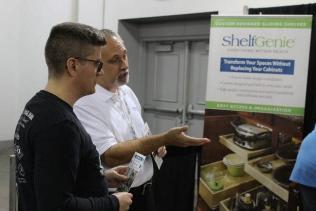 ShelfGenie at the jacksonville home and garden show