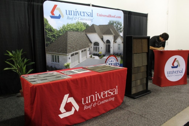 Jacksonville Home and garden show universal roof and contracting