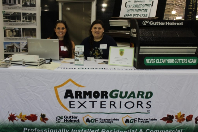 Armor Guard Exteriors at Jacksonville Home & Garden Show