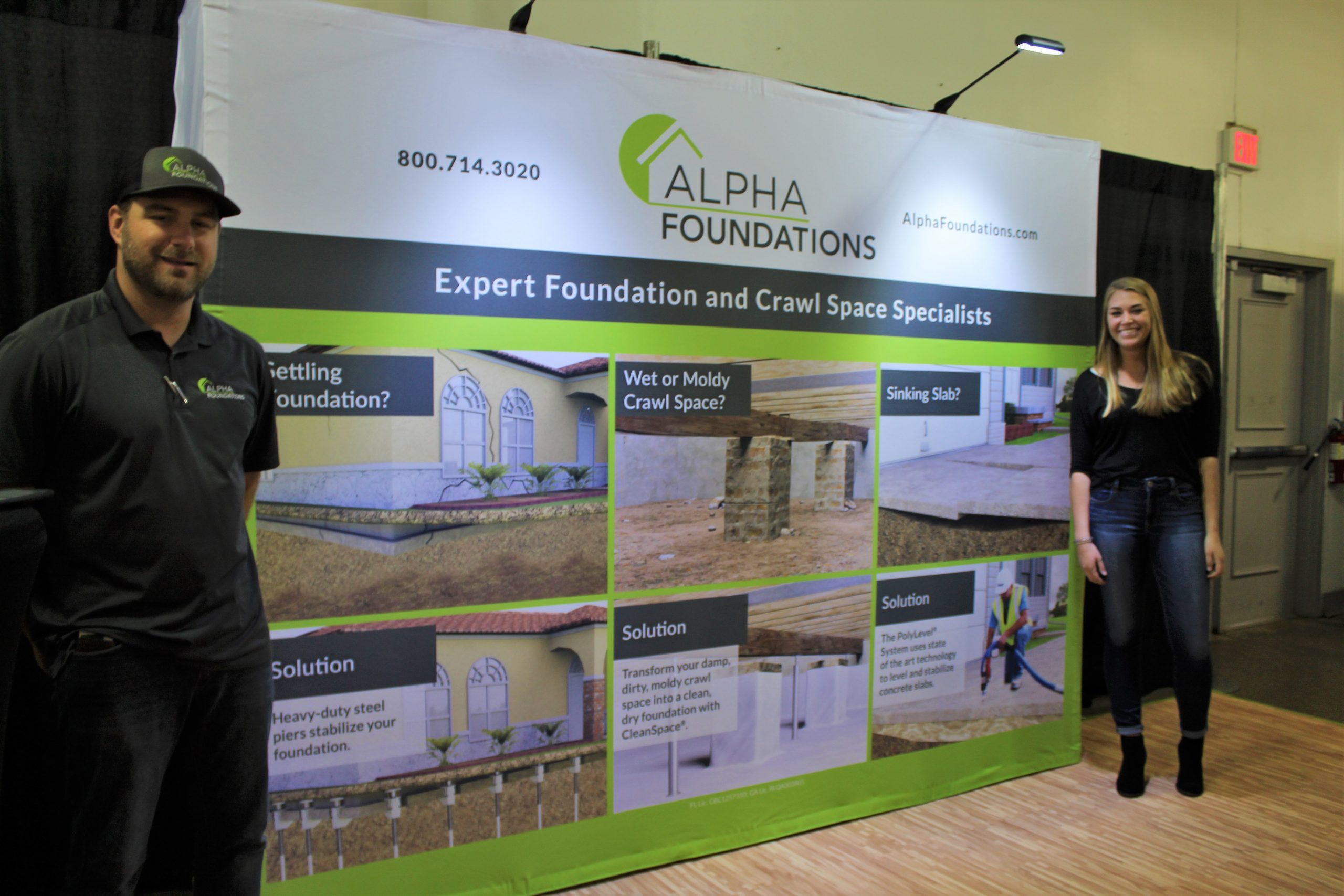 Alpha Foundations at Jacksonville Home & Garden Show