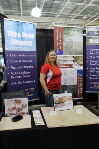 Groutsmith Jax at Jacksonville Home & Garden Show