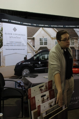 Floor Coverings International at Jacksonville Home & Garden Show