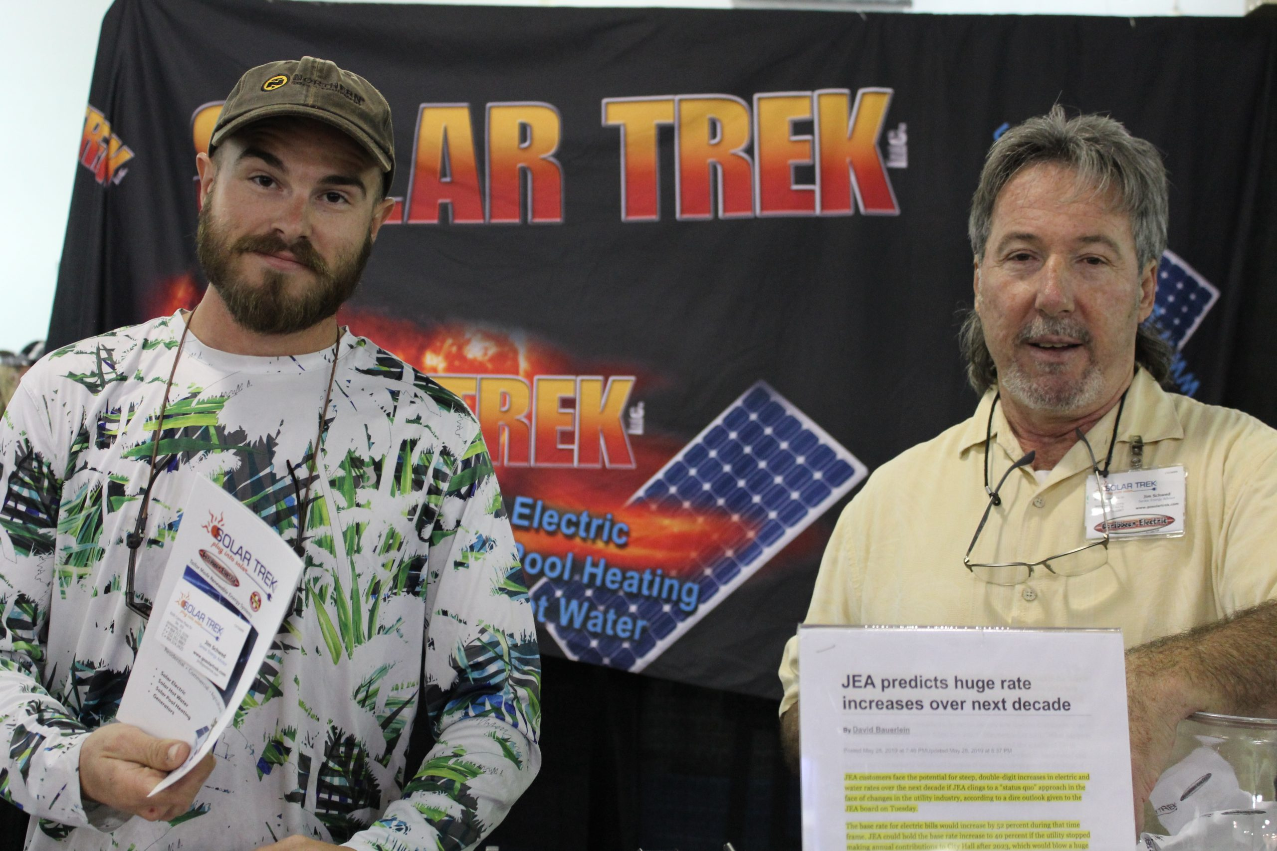 Solar Trek at Jacksonville Home & Garden Show