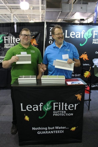 Leaf Filter Gutter Protection at Jacksonville Home & Garden Show