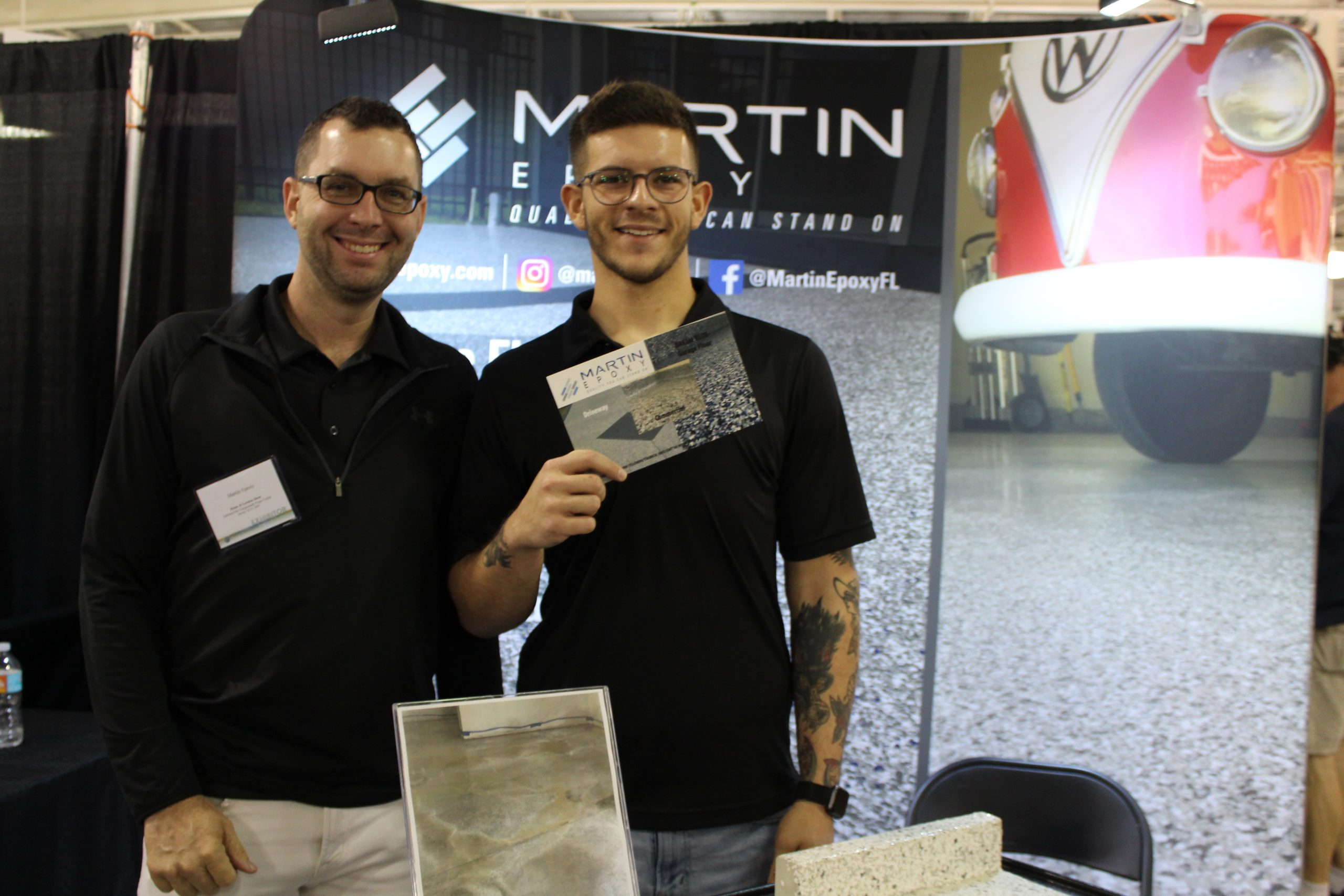 Martin Epoxy at Jacksonville Home & Garden Show