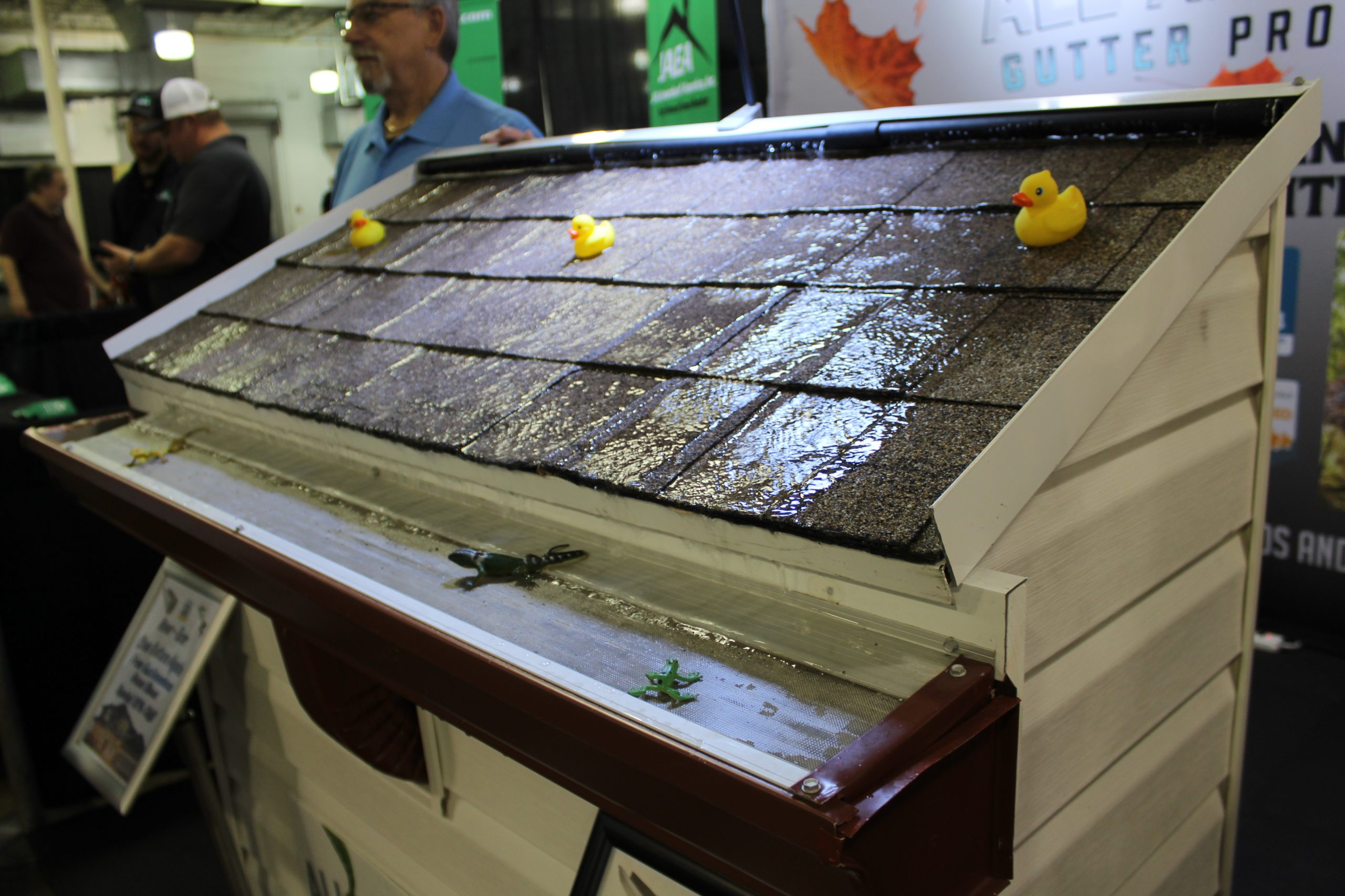 All American Gutter Protection at Jacksonville Home & Garden Show