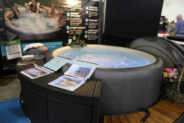 Soft Tub @Jacksonville Home & Garden Show