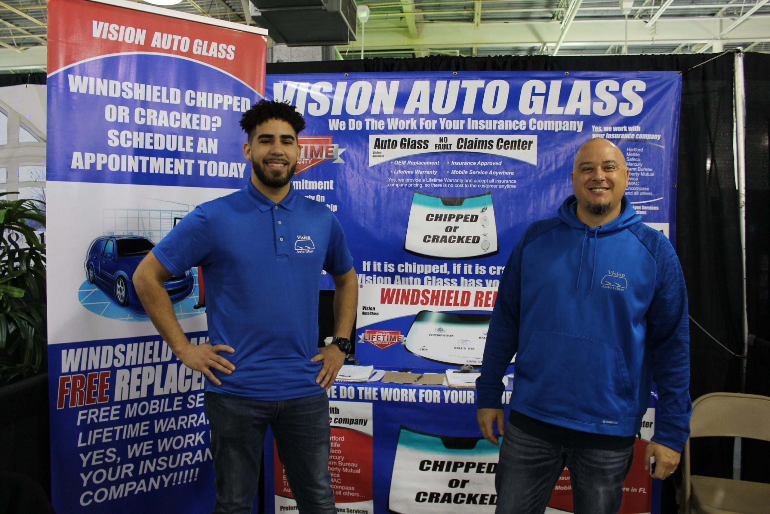 Vision Auto Glass at Jacksonville Home & Garden Show
