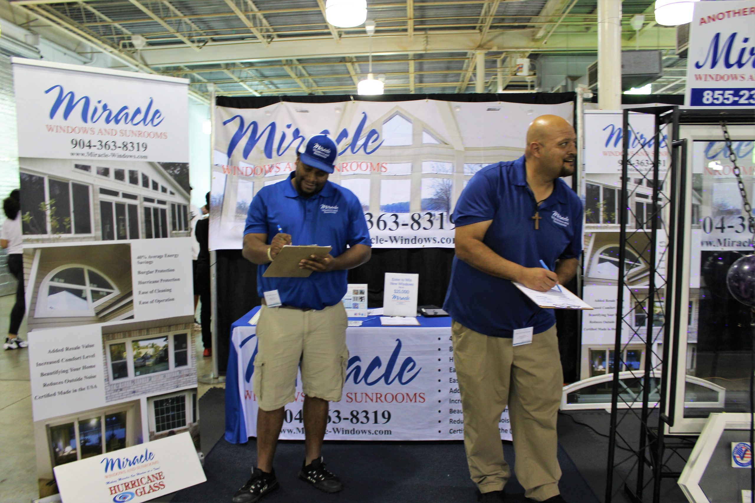 Miracle Windows and Sunrooms at Jacksonville Home & Garden Show