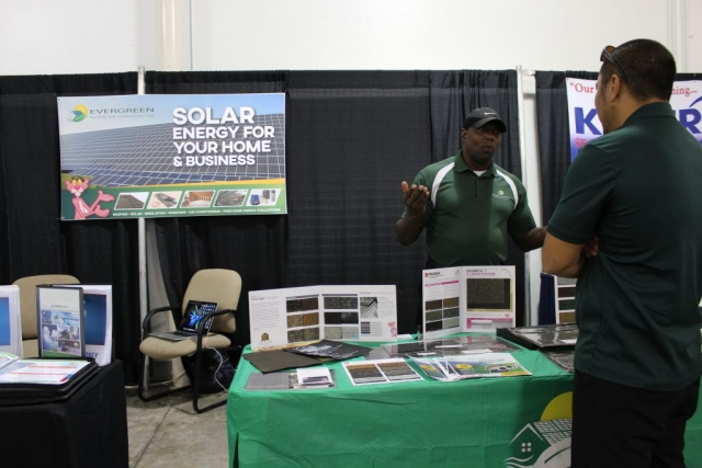 Evergreen Solar at Jacksonville Home & Garden Show