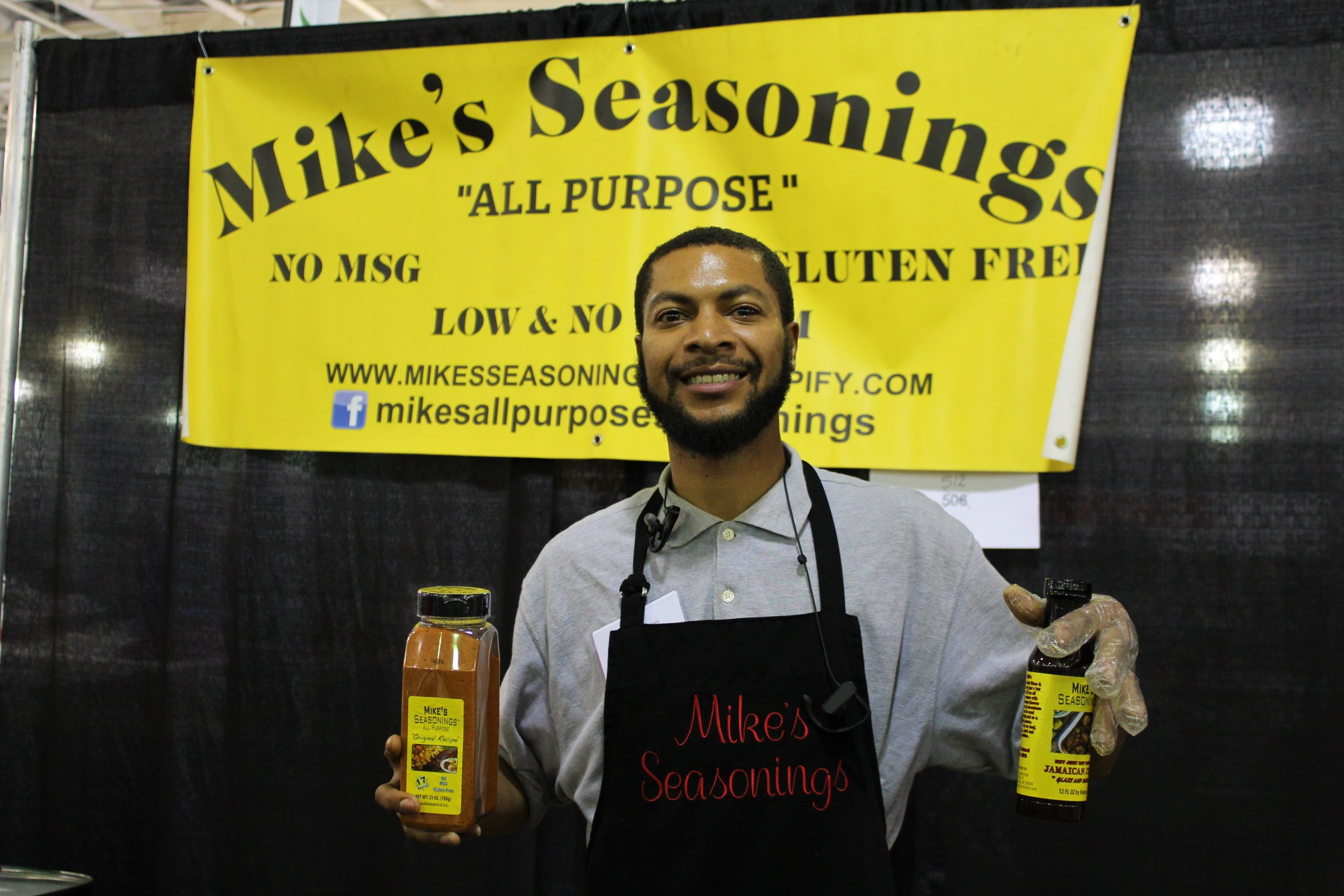 Mike's All Purpose Seasoning at Jacksonville Home & Garden Show