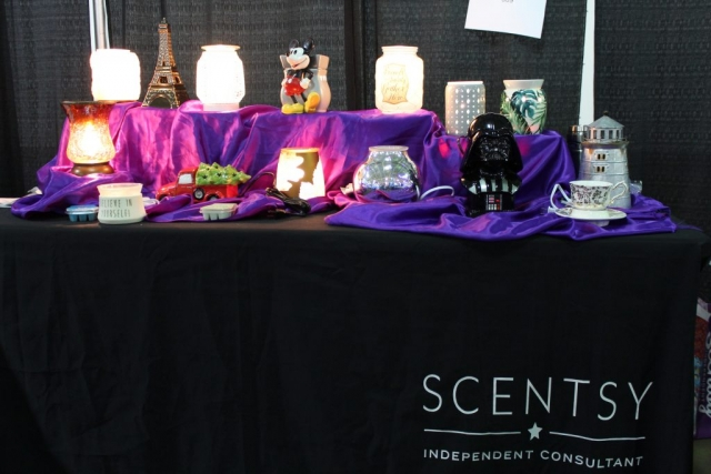 Cheryl & James Hindman Independent Scentsy Reps at Jacksonville Home & Garden Show
