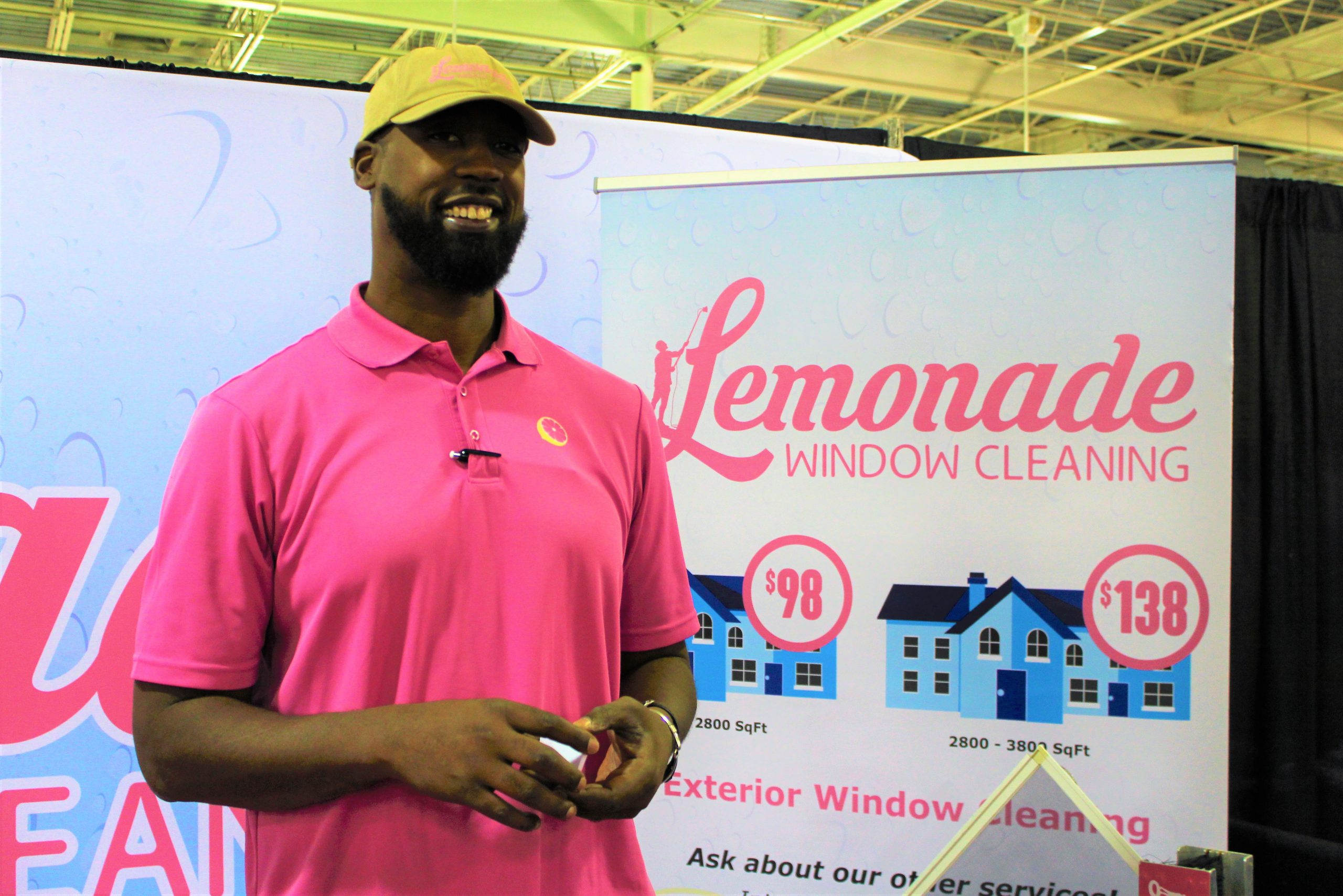 Lemonade Window Cleaning at Jacksonville Home & Garden Show